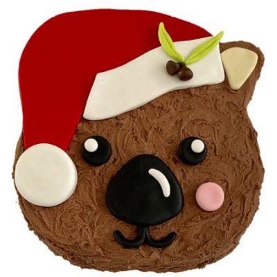 wombat-christmas-cake-kit-australian-aminal