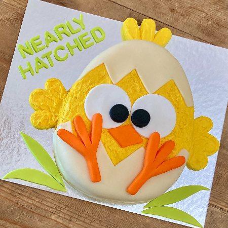 cute-baby-shower-cake-diy-little-chick-recipe
