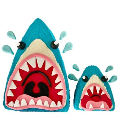 Cute-shark-cake-father's-day-cake-ideas